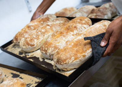 Fresh-baked Bread Loaves