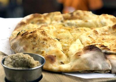 Bingelela Foccacia pizza